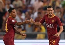 """Pirmame kėlinyje subyrėjusi """"Roma"""" išplėšė lygiąsias prieš """"Atalanta"""""""