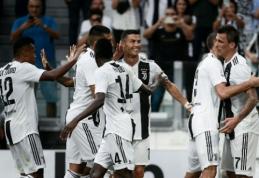 """Pats sau įmušti sutrukdęs C. Ronaldo šventė pergalę prieš """"Lazio"""""""