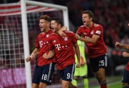 """""""Bayern"""" """"Bundesliga"""" pirmenybes pradėjo pergale, tačiau prarado K. Comaną"""