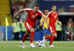 Serbijos rinktinė į Lietuvą atsiveža ryškiausias savo šalies žvaigždes