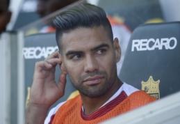 """Spauda: R. Falcao buvo siūlomas Madrido """"Real"""" klubui"""