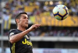 """C. Ronaldo atskleidė, koks """"Juventus"""" fanų poelgis tapo viena iš transfero priežasčių"""