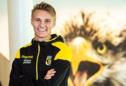 Oficialu: M. Odegaardas dar sezonui išvyksta į Nyderlandus