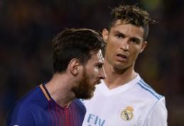 Geriausių Europoje rungtyniaujančių žaidėjų trejetukas - be L. Messi