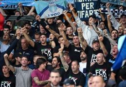 """""""Lazio"""" fanai sukėlė skandalą: uždraudė prie jų artintis moterims"""