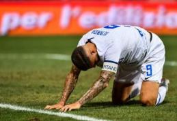 """""""Inter"""" sezoną pradėjo pralaimėjimu """"Sassuolo"""", lygos naujokai susitvarkė su """"Cagliari"""" (VIDEO)"""