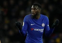 """Oficialu: """"Chelsea"""" nepritapęs T. Bakayoko keliasi į """"Milan"""""""
