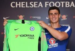 """Oficialu: """"Chelsea"""" už rekordinę sumą įsigijo vartininką Kepą"""