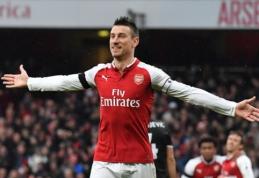 """L. Koscielny pasirengęs palikti """"Arsenal"""" pasibaigus kontraktui"""