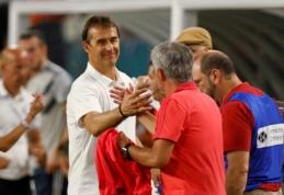 J. Mourinho apgynė J. Lopetegui dėl Ispanijos futbolo federacijos sprendimo