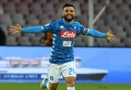 """""""Juventus"""", """"Roma"""" ir """"Napoli"""" iškovojo įtikinamas pergales, """"Lazio"""" teko pavargti dėl taškų"""