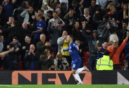 """E. Hazardas nuostabiu reidu eliminavo """"Liverpool"""" iš Anglijos lygos taurės"""