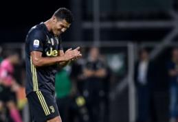 """F. Inzaghi: su C. Ronaldo """"Juventus"""" yra geriausia komanda Europoje"""