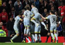 """F. Lampardo treniruojamas """"Derby"""" išspyrė """"Man Utd"""" iš Anglijos lygos taurės"""