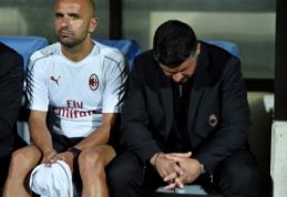 """G. Gattuso: """"Negali būti jokių pasiteisinimų"""""""