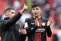 """""""Bayer"""" palaužė """"Mainz"""", """"RB Leipzig"""" ir """"Eintracht"""" pasidalino po tašką"""