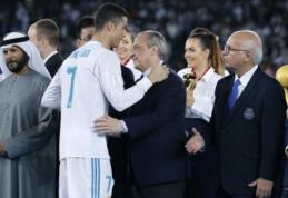 """F. Perezas: """"Niekas daugiau, išskyrus """"Juventus"""", nesikreipė į mus dėl Ronaldo"""""""