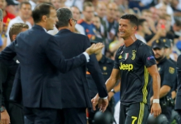 Su ašaromis aikštę palikęs C. Ronaldo buvo nubaustas nepelnytai? (apklausa)