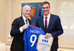Ispanija nori surengti 2028 metų Europos čempionatą