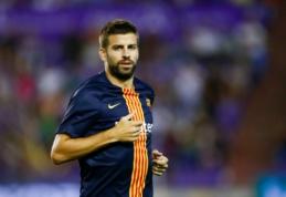 """G. Pique elgesiu nepatenkinta """"Barca"""" pakvies gynėją pasiaiškinti vadovybei"""