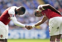 """Puikūs """"Arsenal"""" puolėjų įvarčiai nulėmė pergalę prieš """"Cardiff"""""""