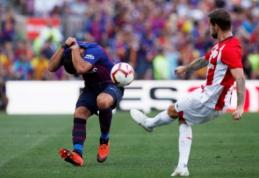 """Stringanti """"Barca"""" trečią kartą iš eilės liko be pergalės """"La Liga"""" pirmenybėse"""