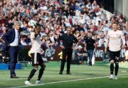 """J. Mourinho agonija tęsiasi: """"West Ham"""" namuose pranoko """"Man Utd"""" futbolininkus"""