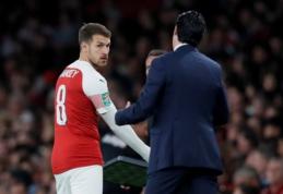 """""""Arsenal"""" išklausys komandų pasiūlymus dėl Ramsey"""