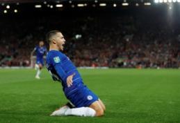 """Puikią sportinę formą šį sezoną įgavęs Hazardas: """"Tai buvo vienas gražiausių mano įvarčių"""""""
