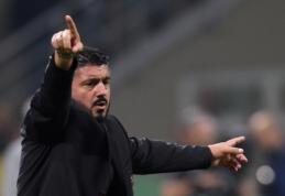 """""""Milan"""" ruošiasi atleisti G. Gattuso"""