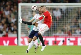 """Anglijai gerų žodžių negailėjęs S. Ramosas: """"Kane'as galėtų suspindėti Ispanijos lygoje"""""""
