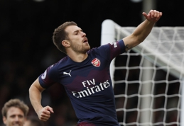 """""""Arsenal"""" paliksiantis A.Ramsey: """"Taip nutinka futbole"""""""