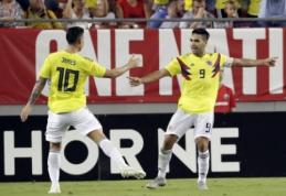 P. Amerikos grandų pasirodymai: Argentina sutriuškino Iraką, Rodriguezas įmušė nuostabų įvartį