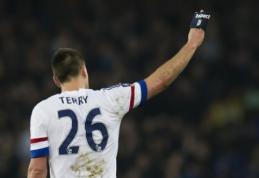 """""""Chelsea"""" legenda J. Terry paskelbė apie karjeros pabaigą"""