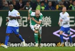 """Puikią sezono pradžią žaidžiantis """"Werder"""" nugalėjo ir """"Wolfsburg"""""""