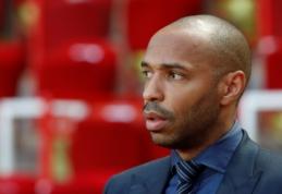 """T. Henry norėtų treniruoti """"Aston Villą"""", ekipos vadovai taikosi į R. Benitezą"""