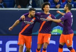 """""""Man City"""" tik mačo pabaigoje palaužė """"Hoffenheim"""", P. Dybala įmušė """"hat-tricką"""""""