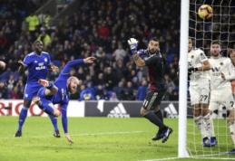"""""""Cardiff"""" antroje rungtynių pusėje palaužė žaidimo krizėje esantį """"Wolves"""""""