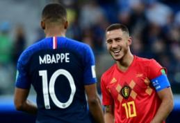 """E. Hazardas: """"Mbappe yra vertas laimėti """"Auksinį kamuolį"""""""