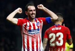 """""""Atletico"""" sensacingai išsigelbėjo namuose, """"Valencia"""" iškovojo antrąją pergalę lygoje"""
