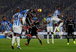 """Premier"" lygos autsaiderių dvikovoje - pirmoji ""Huddersfield"" pergalė"