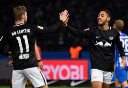 """""""Bundesliga"""": turnyrinės lentelės kaimynų dvikovoje - """"Leipzig"""" pergalė"""