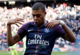 """Pergalė prieš """"Lille"""" nusėta PSG ir K.Mbappe rekordais"""