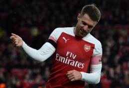 """""""Arsenal"""" nesiūlys naujos sutarties A. Ramsey"""