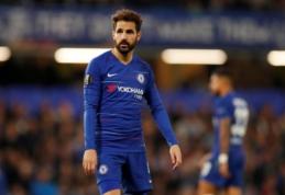"""C. Fabregasas šią žiemą atsisveikins su """"Chelsea"""""""