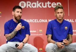 L. Messi laukia grįžtančio Neymaro bei tikisi, kad vieną dieną vėl dirbs su P. Guardiola