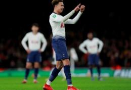 """Po Londono derbio nubausti """"Arsenal"""" ir """"Tottenham"""" klubai"""