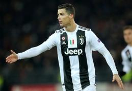 """""""Juventus"""" suteiks poilsio C.Ronaldo"""