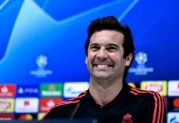 """S. Solari apie C. Ronaldo pareiškimus: """"Mes esame kukli komanda"""""""