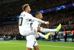 PSG suskubo paneigti gandus, kad bus priversti parduoti Neymarą arba K. Mbappe